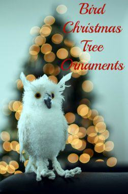 Bird Christmas Tree Ornaments