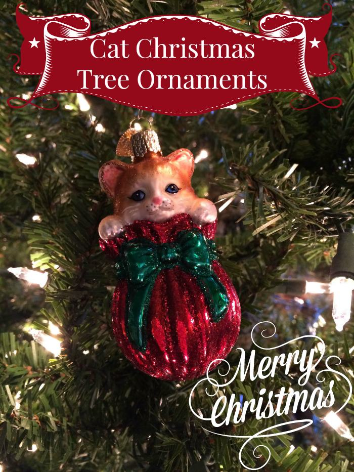 Purr Fect Cat Christmas Tree Ornaments For A Meowy Christmas: christmas tree cat tower
