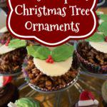 Cupcake Christmas Tree Ornaments