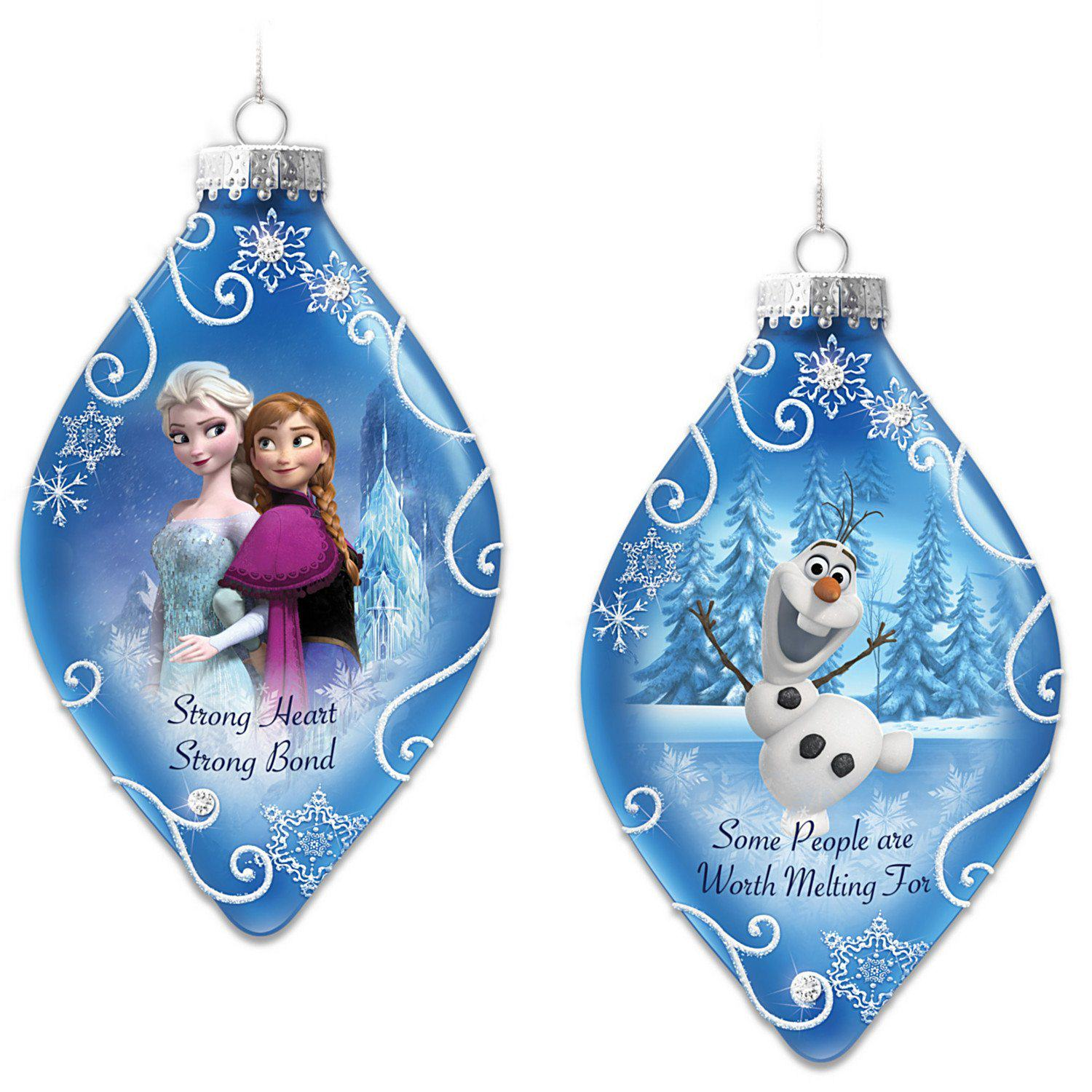 Disney Characters Christmas Ornaments