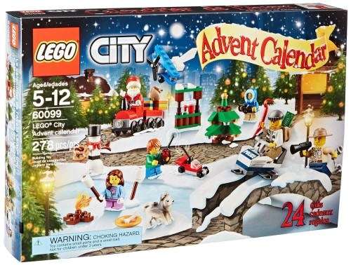 Lego City Advent Calendars