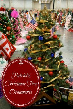 Patriotic Christmas Tree Ornaments