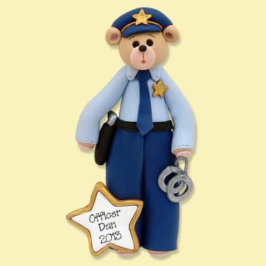Police Christmas Ornaments