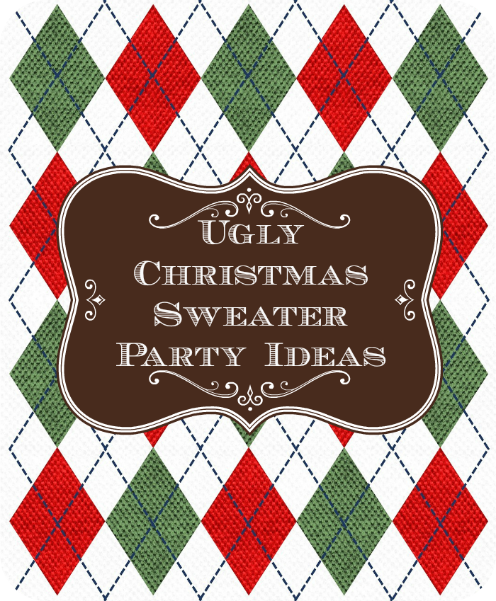Christmas Sweater Party Ideas Part - 35: Ugly Christmas Sweater Party Ideas