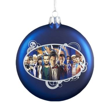 Dr. Who Christmas Decorations