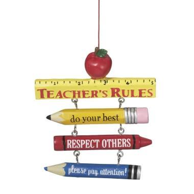 Teacher Christmas Tree Ornaments